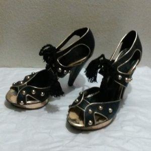 Topshop Tassel Heels - More Pics - SOLD